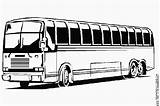 Bus Transportation Coloring Drawing Pages Printable Drawings sketch template