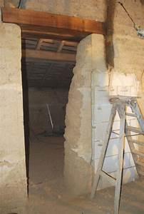 Mur En Pisé : chantier r alis chassins dans l 39 ain ouverture dans un ~ Melissatoandfro.com Idées de Décoration