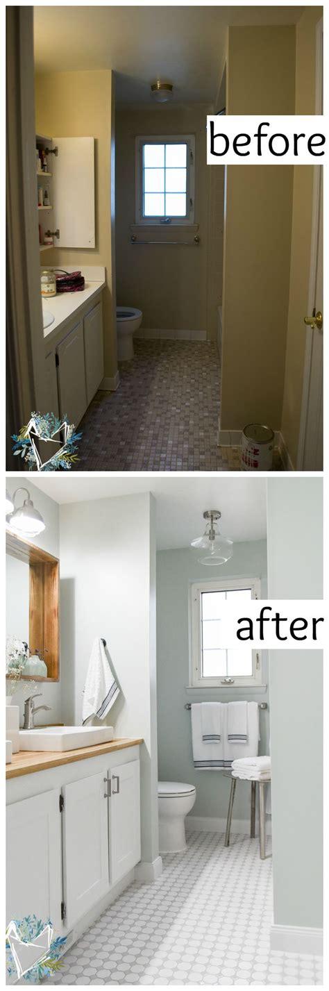 budget bathroom makeovers ideas  pinterest