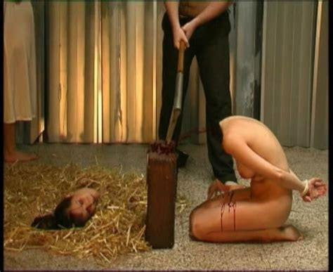Naked Girls Beheaded On Chopping Block Gallery My Hotz Pic