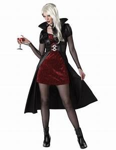 Costume Rosso Da Vampiro Per Donna Halloween Costumi
