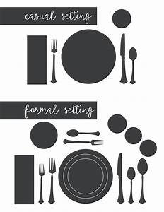 13 Table Setting Diagram Printable  Fine Dining Table Setting Diagram Banquet Table Set Up
