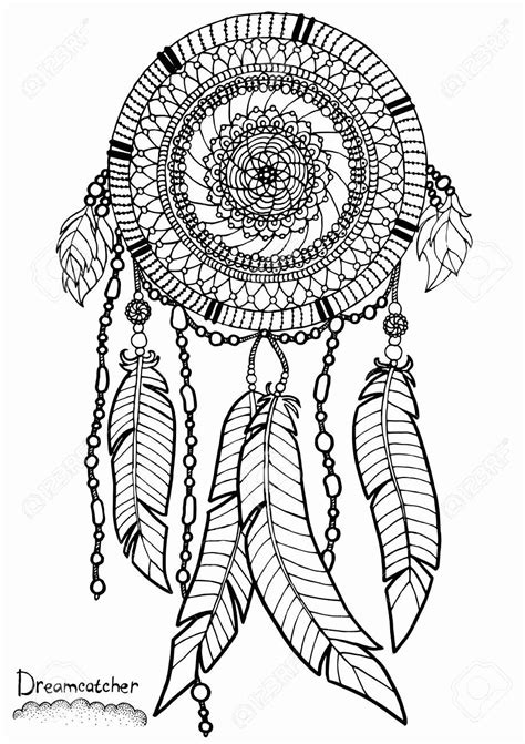 Dream Catcher Coloring Book Inspirational Coloring Pages