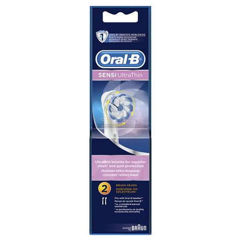 Extra brushes Oral-B Sensi Ultra Thin, Braun, EB60-2
