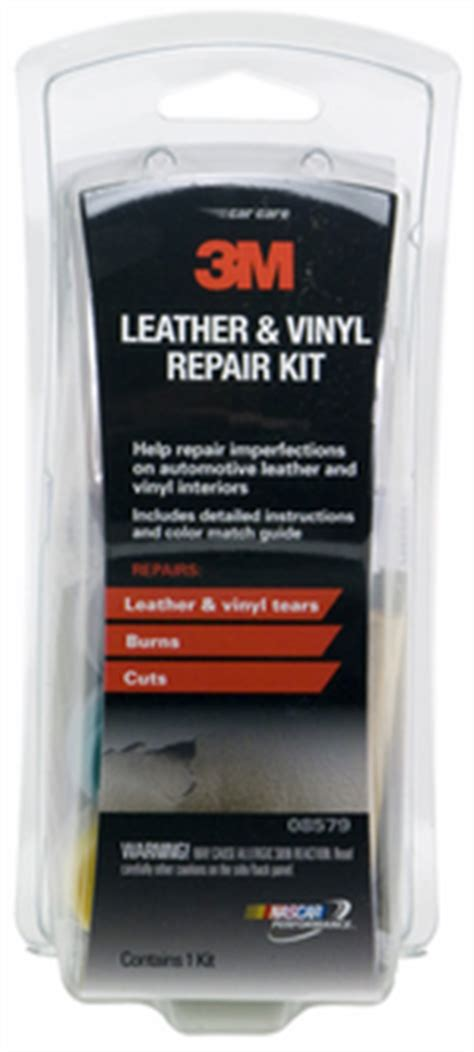 auto leather vinyl repair kit mmm