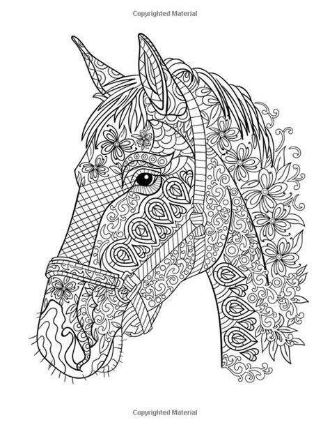 coloriage zen coloriages horse coloring pages