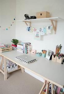 Schreibtisch Im Schlafzimmer : 1001 ideen f r schreibtisch selber bauen freshideen home diy pinterest schreibtisch ~ Eleganceandgraceweddings.com Haus und Dekorationen