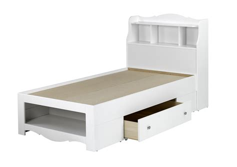 bookcase headboard plans child bed affordable modern home furniture