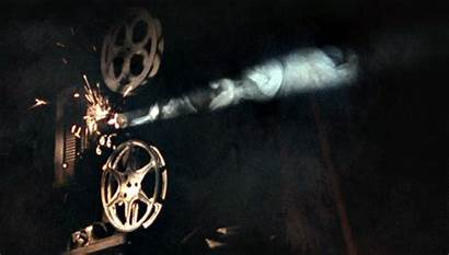 Camera Film Giphy Maudit Projector Raimi Sam