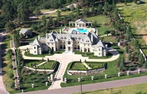 exquisite french style mansion  colorado springs  homes   rich