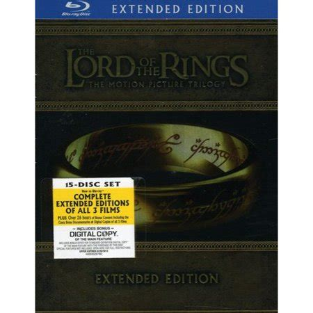 Lord Of The Rings Trilogy (bluray) (extended Edition