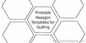 1 1 2quot hexagon template printable craftsy With 8 inch hexagon template