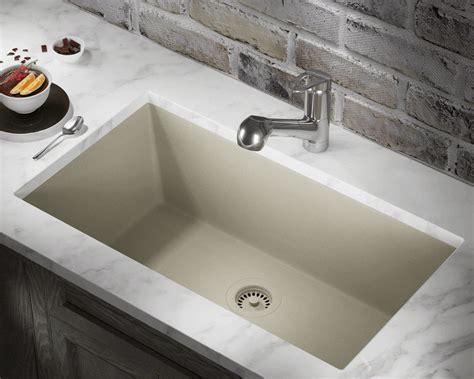 slate single bowl undermount trugranite sink