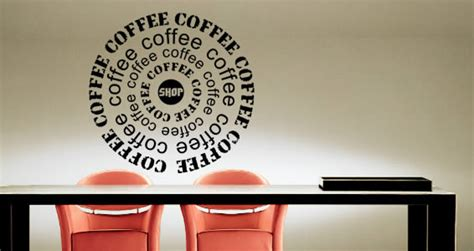 Coffee Shop Vinyl Wall Art Birch Coffee Long Island City Standard To Water Ratio Espresso Ikea Lack Table White Best For Aeropress Calories In Black Starbucks