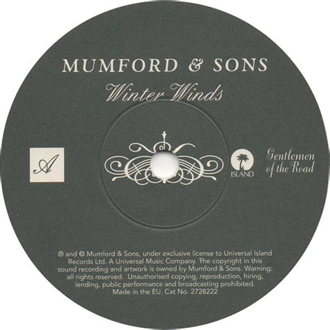mumford sons record label 45cat mumford and sons winter winds hold on to what