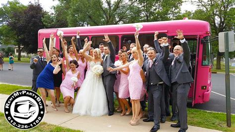 Wedding Transportation by Wedding Transportation In Minnesota Rentmypartybus Inc