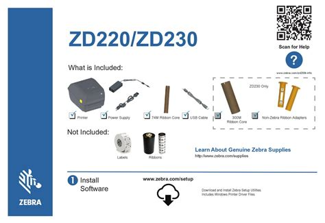 The zebra zd220 label printer provides an outstanding return on investment. ZEBRA ZD220 QUICK START MANUAL Pdf Download   ManualsLib