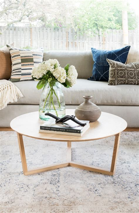 This brings a lively, natural element to the space and gives you something to. Hacks for Round Coffee Table Styling - Studio McGee