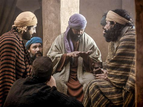 freebibleimages jesus appears  thomas thomass