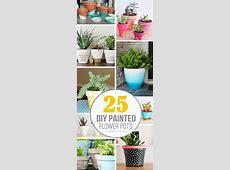 25 DIY Painted Flower Pot Ideasyou'll LOVE
