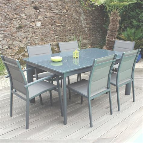 chaises de table emejing table salon de jardin bricomarche images awesome