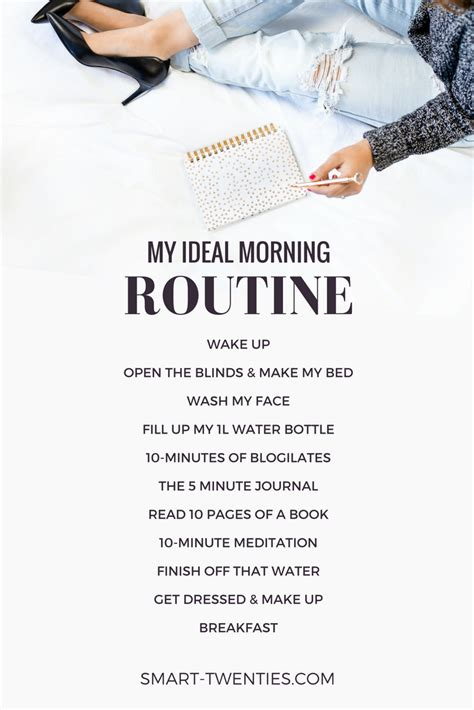 My Morning Routine  Time Management  Pinterest