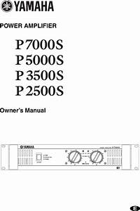 File  Schematic Diagram Yamaha P7000