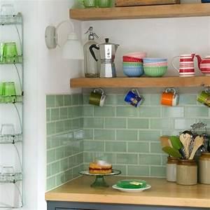 Carrelage Vert D Eau : carrelage cuisine vert ~ Melissatoandfro.com Idées de Décoration