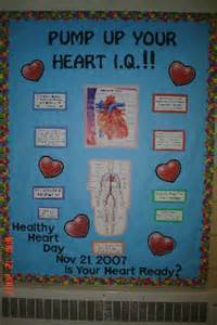 Heart Health Bulletin Board Ideas