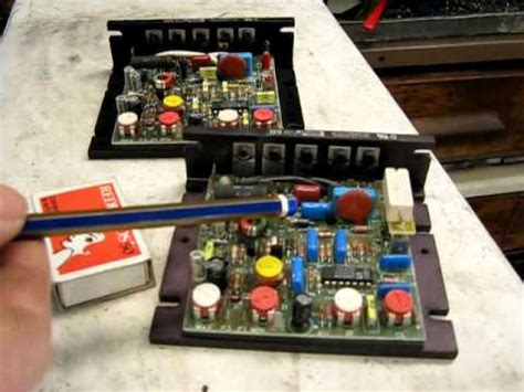 dc drive controller suitable for a treadmill motor conversion to a lathe or mill