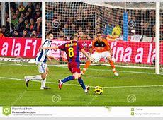 Iniesta Shooting A Goal Editorial Photo Image 17741191
