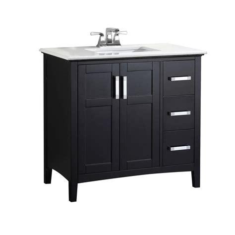 simpli home winston   vanity  black  quartz