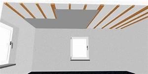 Rigipsdecke Unterkonstruktion Holz : gipskartondecke montieren schritt f r schritt w rmed mmung und innenausbau webseite ~ Frokenaadalensverden.com Haus und Dekorationen