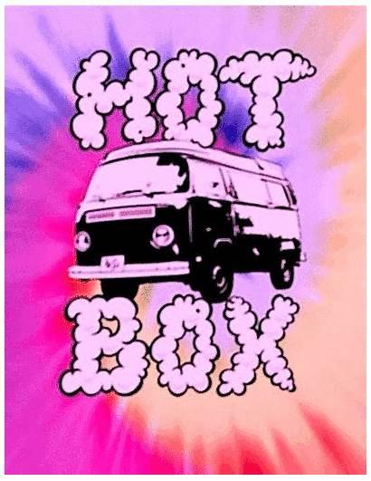 Trippy Weed Hippie Stoner Smoke Vans Hotboxing
