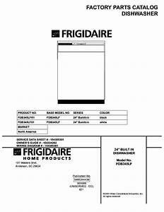 Frigidaire Fdb345lf Service Manual Download  Schematics
