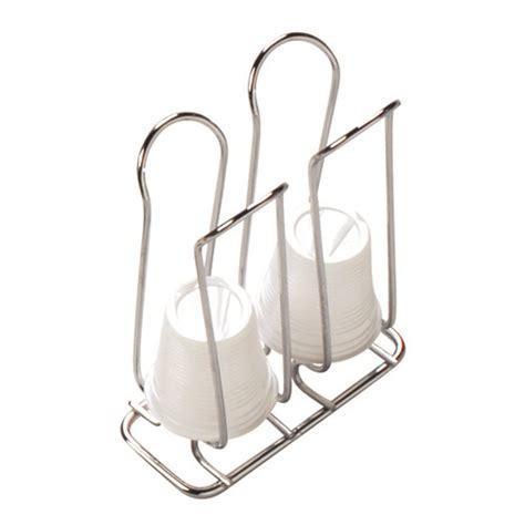 Bicchieri Plastica Caffè contenitore bicchierini da caff 195 168 doppio cromato