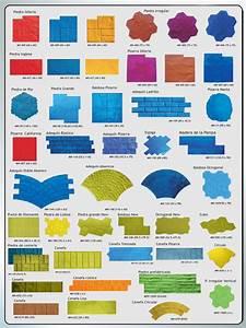 Moldes y colores para el hormigón impreso diseño único