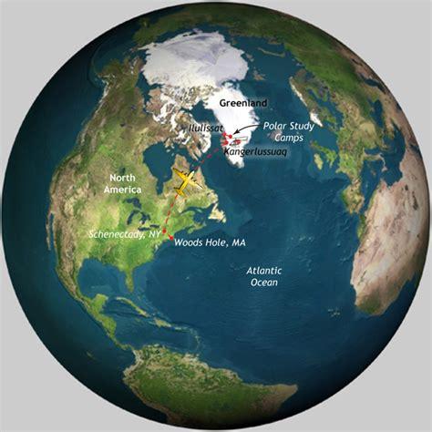 Greenland On World Map