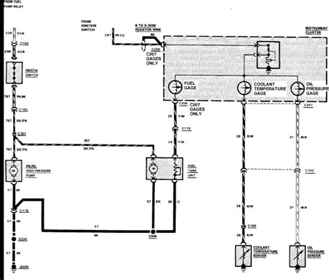 Wiring Diagram For 1988 Ford Ranger by 1987 Ford Ranger Fuel System Wiring Diagram Ford Auto