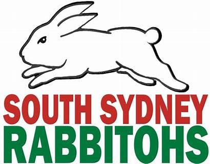 Rabbitohs Sydney South Wikia Logos League Rabbit