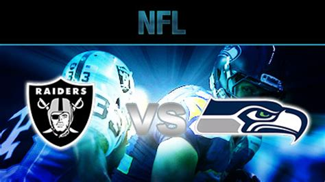 nfl game matchups raiders  seahawks betting predictions