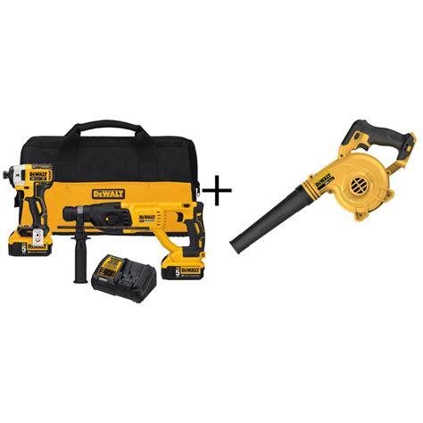 Dewalt  Power Tool Combo Kits  Power Tools  The Home Depot