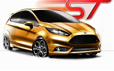 ford fiesta st concept   wallpapersford