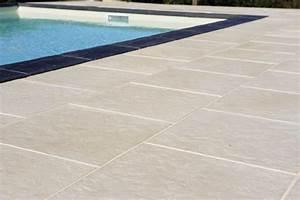 pierre reconstituee piscine pj62 jornalagora With plage piscine pierre naturelle 10 dalles de france fabricant francais de dalles et