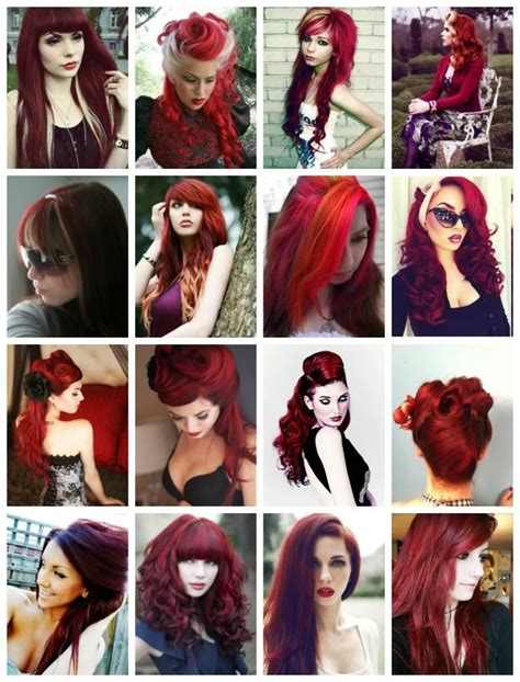 Crafty Lady Abby Hair Red Coloring Inspiration Beauty