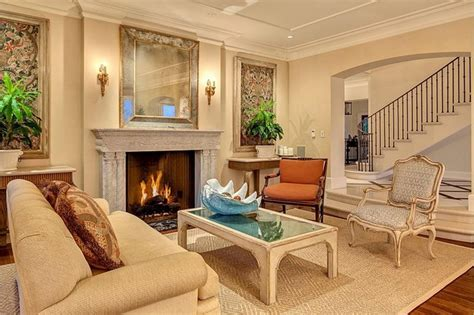 stunning living rooms  crown molding page