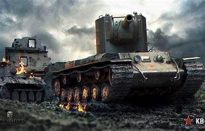 Kv Tanks Tank Soviet Sssr Ussr Ruins
