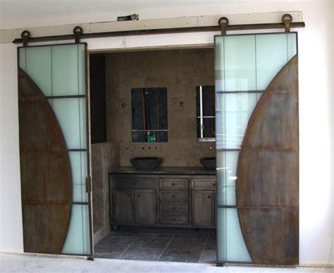 Industrial Penthouse Barn Doors In San Diego