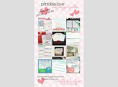 Printable Love {Customize Planner and Printables