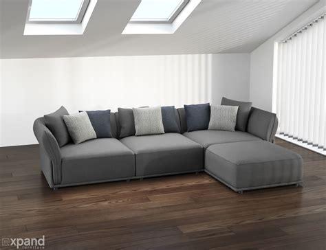 modern sectional sofas stratus sofa modern modular sectional set of 5 expand
